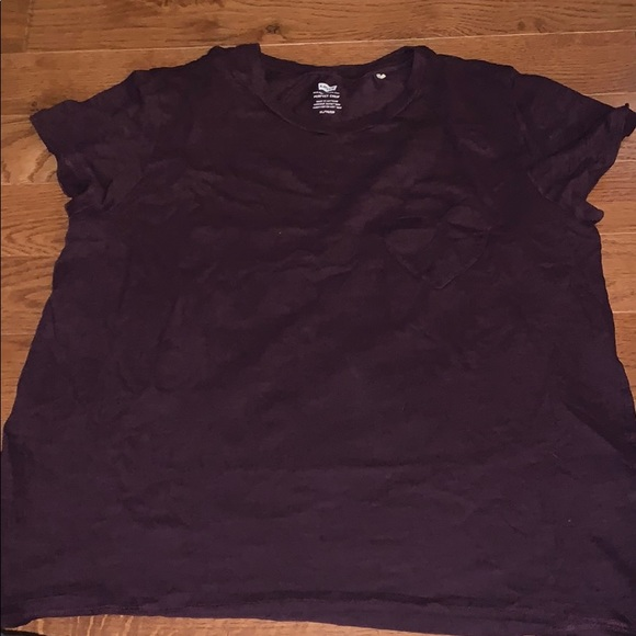 T shirt with heart shaped pocket